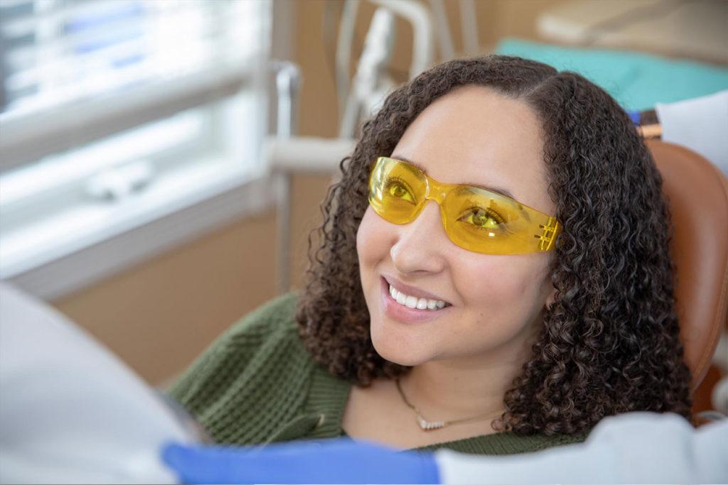 patient happy she chose Select Dental Select Dental